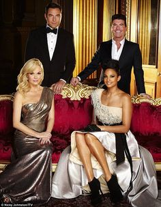 David Walliams, Alesha Dixon and returning judge Amanda Holden join Simon Cowell for the new series of Britain's Got Talent