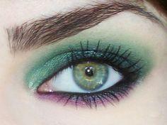 Eyeshadow for green eyes.