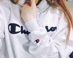 boyfriend sweatshirt Champion