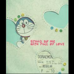 #9 diy 'love doraemon' card