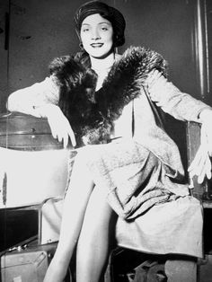 Marlene Dietrich before she was transformed into the Blonde Venus