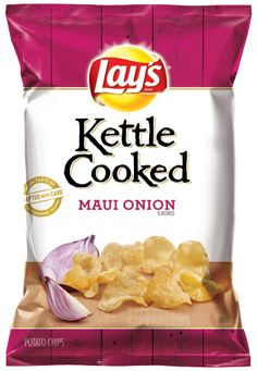 LAY'S® Kettle Cooked Maui Onion Flavored Potato Chips