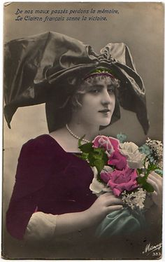 Vintage Postcard sent in by Kim Skinner in NSW Australia Vintage images from art-e-zine.co.uk
