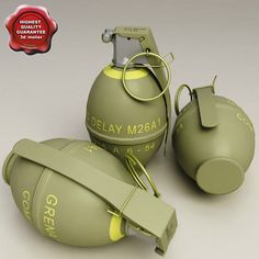 Frag Grenade Model available on Turbo Squid, the world's leading provider of digital models for visualization, films, television, and games.