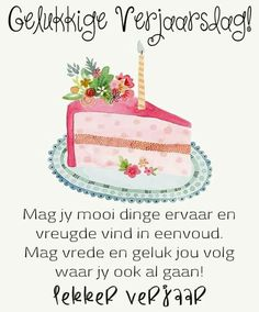 Birthday Qoutes, Birthday Wishes Greetings, Happy B Day, Birthday Pictures, Birthdays, Afrikaans, Cards, Cartoon, Quotes