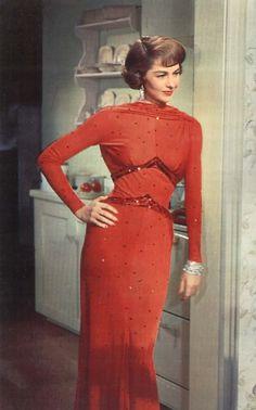 "Cyd Charisse - ""Party Girl"" (1958) - Costume designer : Helen Rose"