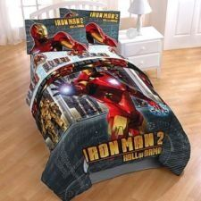 Iron Man 2 Hall of Armor Twin Comforter by Marvel. $150.00. 63 in x 86 in (160 cm x 218cm); 100% Microfiber Polyester. Ironman 2 Hall of Armor Twin Comforter.