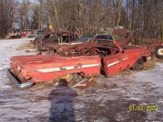 1961 Impala Convertible.This might be beyond restoration.