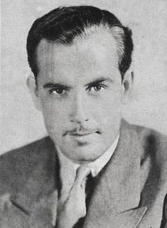 Gordon Westcott - actor - November 6, 1903 - October 31, 1935 - Age 31 - died from head injuries sustained in a polo accident
