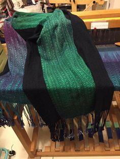 Painted Warp, Scarves, Weaving, Accessories, Fashion, Scarfs, Moda, Fashion Styles, Loom Weaving