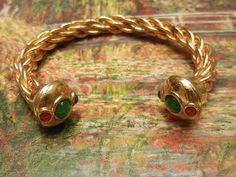 Bracelete Estilo Etrusco Vintage Anos 60