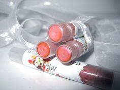 mineral lip shimmer: 'nectar'