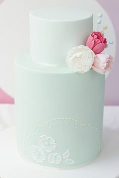 planet cake springtime class by hello naomi, via Flickr