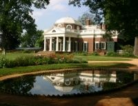 "Charlottesville, VA.  This is the ""nickle"" view of Monticello, the beautiful home of Thomas Jefferson. Charlottesville is also home to his beautiful University of Virginia. It makes a great place to retire. http://www.topretirements.com/reviews/Virginia/Charlottesville.html"