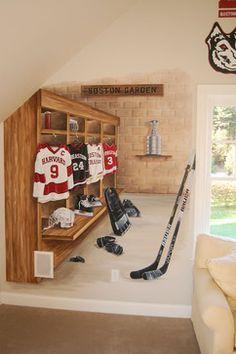 Cornell Baseball Locker Room
