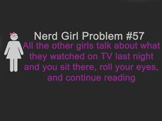 Feels like this happens a lot... Unless they are talking about Doctor Who :)