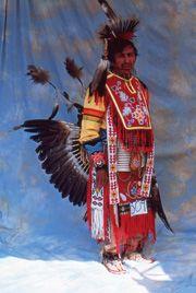 Frank Cadotte  Green Bay, Wisconsin  Ojibwe  Men's Traditional Dancer