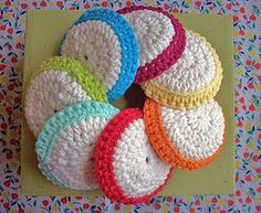 Face scrubbies on Ravelry.