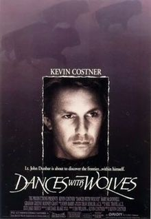 High resolution official theatrical movie poster ( of for Dances With Wolves Image dimensions: 1938 x Directed by Kevin Costner. Starring Kevin Costner, Mary McDonnell, Graham Greene, Rodney A. Kevin Costner, Mary Mcdonnell, Wolf Movie, Movie Tv, Movie List, Film Scene, Wolf Poster, Best Picture Winners, Dances With Wolves