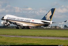 9V-SFK Singapore Airlines Cargo Boeing 747-400F