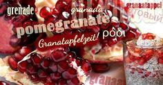 Leckere Granatäpfel von Fet a Sóller.