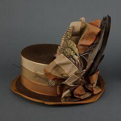 Going-away hat (image 4) | 1888 | Oakland Museum of California | Item #: H4442.43U