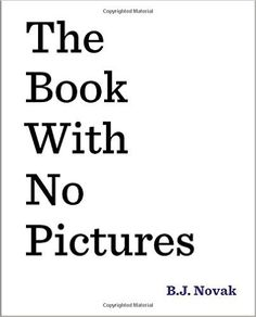 The Book With No Pictures Review and Book Extension Activity Ideas
