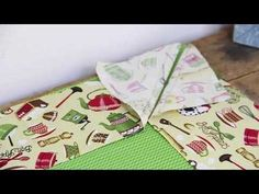 Sewing Hacks, Sewing Tutorials, Sewing Projects, Techniques Couture, Sewing Techniques, Patch Quilt, Patchwork Kitchen, Fabric Hair Bows, Applique Fabric