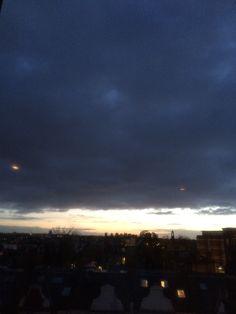 Dark sky narrow light...