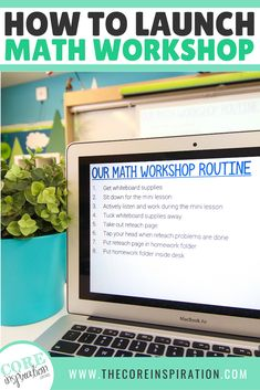 These lesson plans show how to introduce and set up math workshop. This third grade teacher gives you all the details for how she sets expectations for workshop during the first weeks. Her post covers how to set up math workshop rotations and how to set your schedule, and it gives tips for math workshop organization. If you're in need of guidance on how to start implementing math workshop in your math classroom, then read this! #mathworkshop #teachingtips #upperelementary #math Workshop Organization, Math Workshop, Classroom Organization, Classroom Management, Math For Kids, Fun Math, Easy Math, Second Grade Math, Fourth Grade