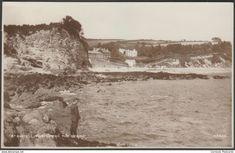 The Beach, Porthpean, St Austell, Cornwall, c.1910s - Photochrom RP Postcard