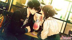 (Collar x malice) Anime Cupples, Anime Art, Hot Anime Guys, Anime Love, Couple Poses Reference, Violet Evergarden, Funny Naruto Memes, Korean Anime, Anime Watch