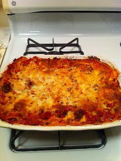 Almost Chef: Sausage and Zuccini Lasagna