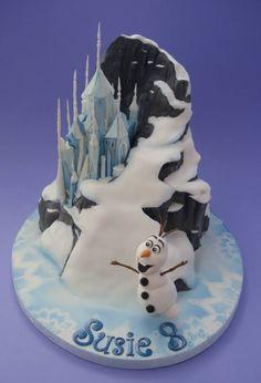 frozen+cake+ | ... Cakes, Frozen Birthday, Frozen Cakes, Disney Frozen, Birthday Cakes
