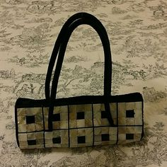 Black Bag Black tiled bag. No missing pieces. Happy shopping xo Bags Totes