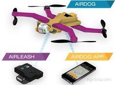 Untuk para olahragawan yang hobinya memfilmkan kegiatannya, sekarang ada teknologi baru. Kalau kemarin drone atau pesawat kecil itu harus dipiloti orang lain, sekarang cukup dengan sensor di tangan. Jadi semakin praktis.