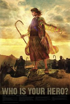 Joseph was valiant and hated by his 11 brethren.  They sold him into slavery and told their father, Jacob, that he was death.  Joseph became a great leader in Egypt and later saved his family for starvation during a great famine.  A righteous man!