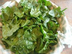 Freezing spinach. Because I never use it all before it goes bad.