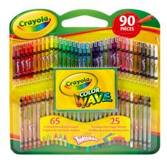 Crayola Twistables Color Wave Colored Pencils and Crayons with Construction Paper, 90 Pieces---bought for all the boys Crayola Art, Crayola Colored Pencils, Crayola Crafts, Color Crayons, Adult Coloring, Coloring Books, Coloring Pages, Twistable Crayons, Crayon Set