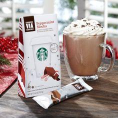 Starbuck's VIA Ready Brew Peppermint Mocha Arabica Coffee Starbucks http://www.amazon.com/dp/B009W784OQ/ref=cm_sw_r_pi_dp_rKY8tb0N02CNP