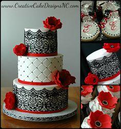 Spanish Style Buttercream wedding cake