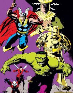 Loki, Thor, Mike Mignola, Big Guns, Hulk, The One, Iron Man, Avengers, Pin Up