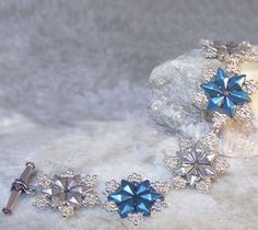 CRYSTAL CASCADE BRACELET | Bead Master - Wholesale of Beads & Beading Supplies