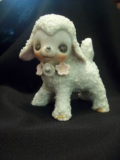 Vintage Lamb Figurine Big Eyes Popcorn Texture Made in Japan circa - Sheep - Vintage Lamb Figurine Big Eyes Popcorn Texture Made in Japan circa Price : Sheep For Sale, Sheep Paintings, Sheep And Lamb, Reference Images, Vintage Ideas, Lambs, Big Eyes, Popcorn, 1960s