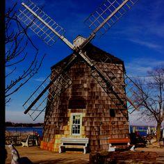 Windmill near Sag Harbor, long Is. NY.   Nov.2011