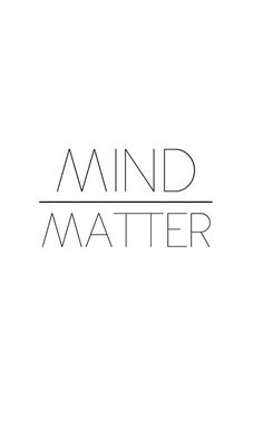 Motivation Monday: Mind over matter. You can do anything you set your mind to. The Words, Cool Words, Motivacional Quotes, Words Quotes, Qoutes, Tattoo Quotes, True Tattoo, Daily Quotes, Psycho Quotes