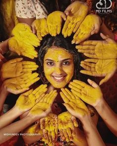 bridal shower - - An Indian bride in Haldi (Turmeric) ceremony Every girl is a princess for her parents and she will turn to be a queen of his man from the day of her w…. Bride Poses, Groom Poses, Wedding Poses, Wedding Photoshoot, Indian Wedding Couple Photography, Outdoor Wedding Photography, Bride Photography, Photography Ideas, The Knot