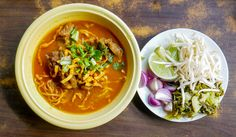 Khao Soi is a must-eat dish in Chiang Mai. The coconut rice or egg noodle curry uses herbs and spices that gives it a flavor akin to Indian cuisine, such as cardamom and turmeric. Some restaurants fry the noodle to give it the crunchiness. The dish is usually made with chicken or beef as it's originally a recipe of Burmese Muslims. Join our Taste of the North & Old Town Chiang Mai Walk to try this dish!