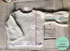 ¿Te atreves a tejer un jersey en punto arroz? | SANTA PAZIENZIA Creative Knitting, Crochet Winter, Cool Sweaters, Diy Crochet, Needle And Thread, Crochet Clothes, Knitting Projects, Mantel, Knitting Patterns