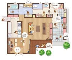 House Interior Ideas Floor Plans 68 New Ideas House Layout Plans, Small House Plans, House Layouts, House Floor Plans, Craftsman Interior, Home Interior Design, Interior Ideas, Style At Home, Japanese Style House
